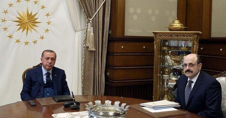 Son dakika: Başkan Erdoğan YÖK Başkanı'nı kabul etti