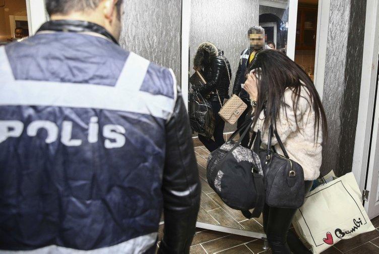 Başkentte fuhuş operasyonu: 21 gözaltı