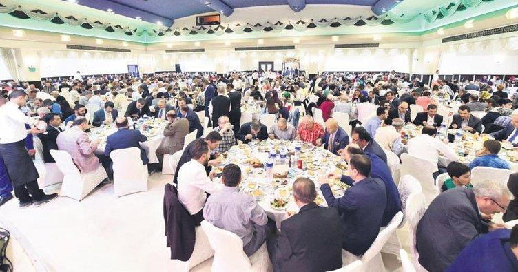 Mamak'ta 85 bin kişi iftar açtı