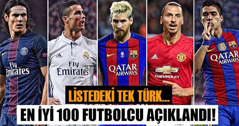 İşte 2017'nin en iyi 100 futbolcusu