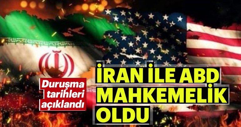 İran-ABD davasında ilk tarih belli oldu