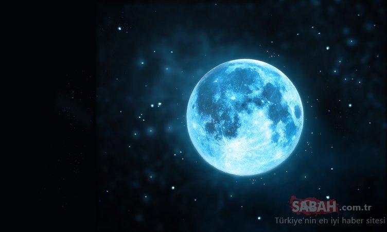NASA'DAN MAVİ AY AÇIKLAMASI!