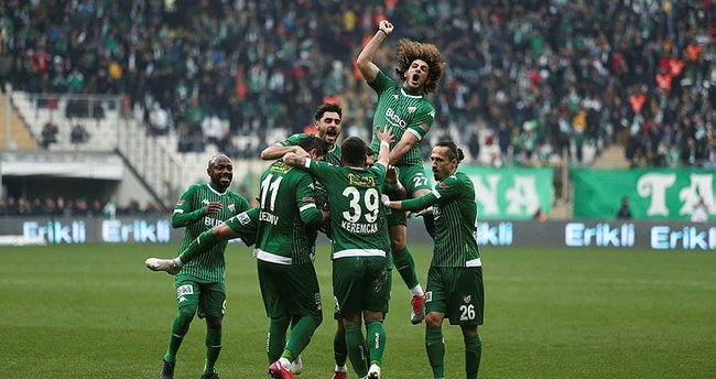 Bursaspor ile Erzurumspor zirve iddiası için sahaya çıkıyor