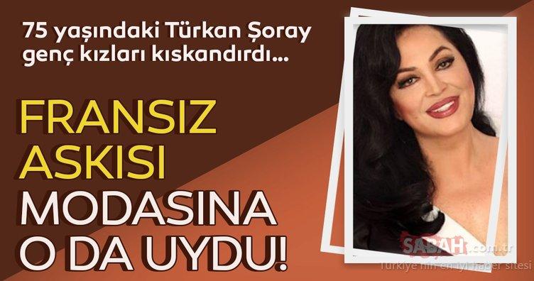 75 yaşındaki Türkan Şoray genç kızları kıskandırdı!