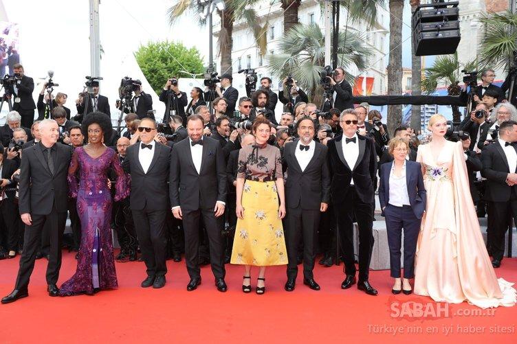 72. Cannes Film Festivali'nde şıklık yarışı! En rüküşü o seçildi