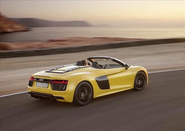 Audi R8 V10 Spyder yollara çıkıyor