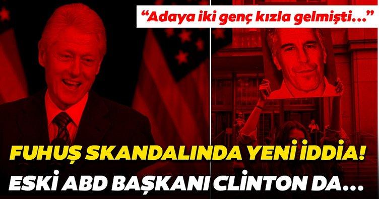 Jeffrey Epstein skandalında son dakika gelişmesi! Eski ABD Başkanı Bill Clinton da oradaydı...
