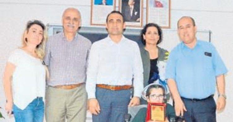 Engelli öğrenci Türkiye 3'ncüsü