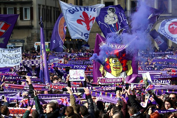Davide Astori'ye son 'ciao'