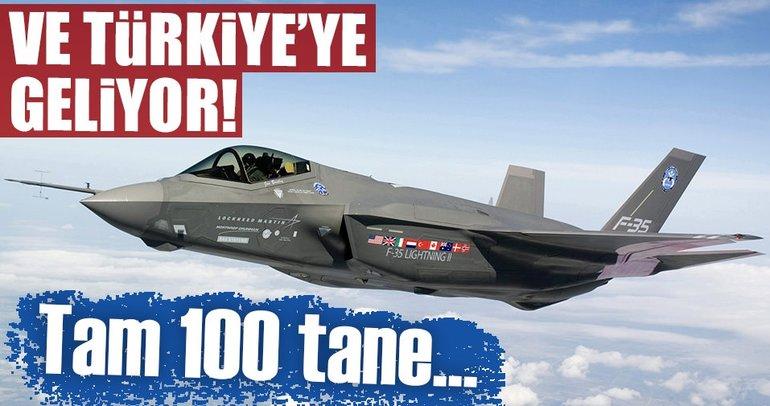 F-35 uçakları Türkiye'ye geliyor