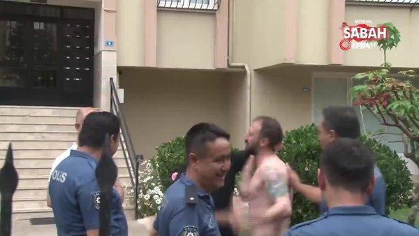Alkollü genç polislere zor anlar yaşattı