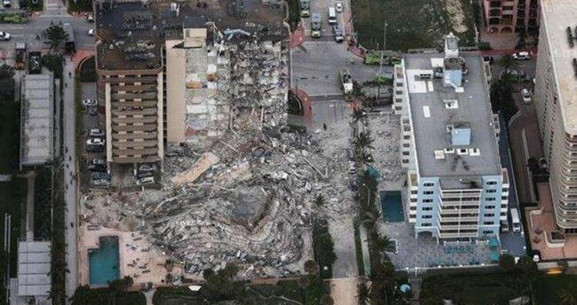 Miami'deki çöken binada bilanço ağırlaşıyor! Can kaybı 16'ya yükseldi