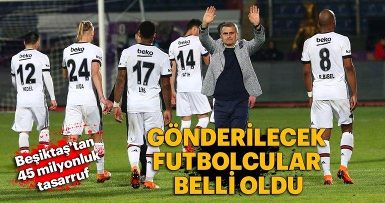 Beşiktaş 4 futbolcuyla yollarını ayırıyor