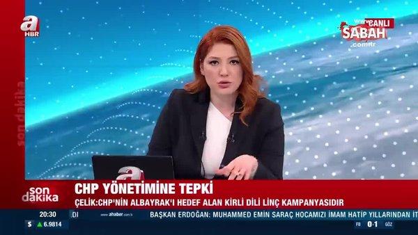 Ömer Çelik'ten, Berat Albayrak'ı hedef alan CHP'ye sert tepki