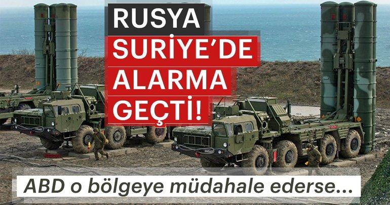 Rusya Suriye'de alarma geçti! ABD o bölgeye müdahale ederse...