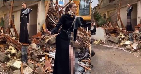 Itır Esen'in enkazda verdiği pozlara tepki yağdı! Sosyal medya ayağa kalktı … - Son Dakika Haberler