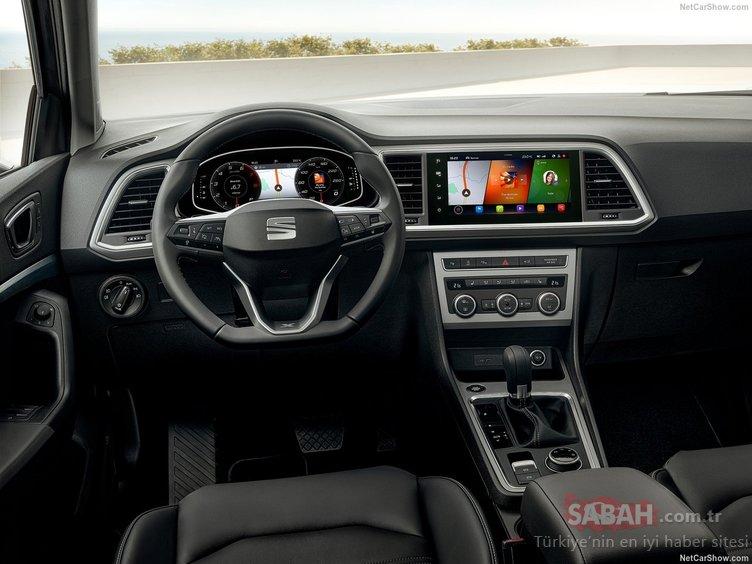 2020 Seat Ateca ortaya çıktı! Makyajlı model içerdiği teknolojilerle dikkat çekiyor