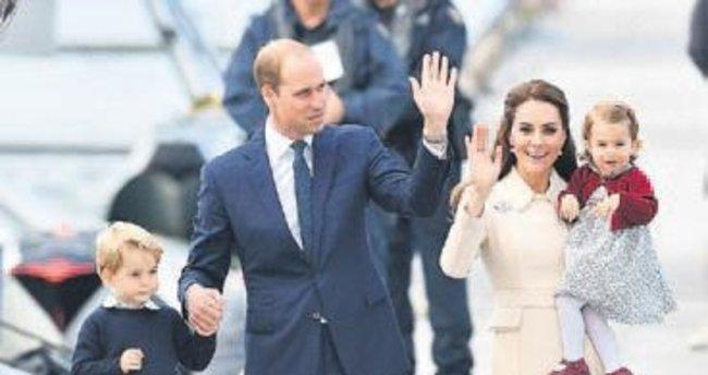 Kanada ziyaretinin yıldızı Prens George