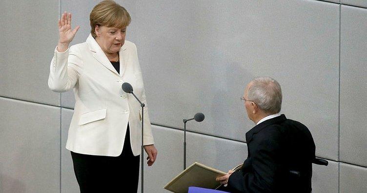 Son Dakika Haberi: Merkel Başbakanlık yeminini etti