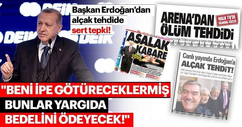 Başkan Erdoğan DEİK Genel Kurulunda önemli açıklamalarda bulundu