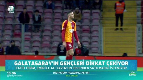 Galatasaray'ın gençleri dikkat çekiyor