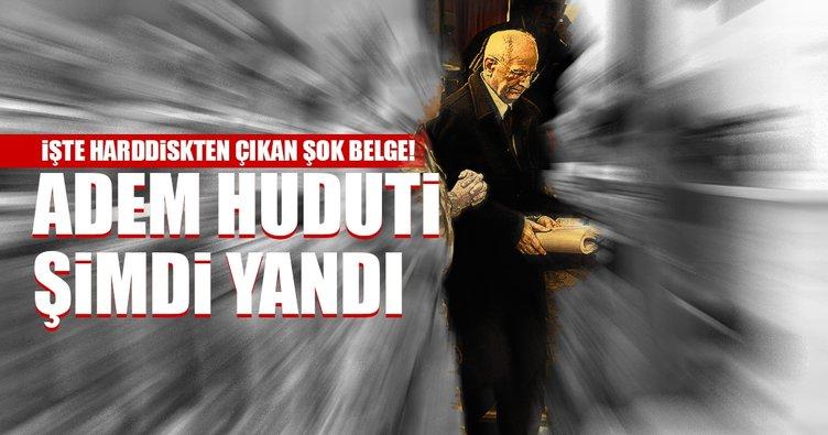 Son dakika: FETÖ'cü hain Adem Huduti hakkında şok belge