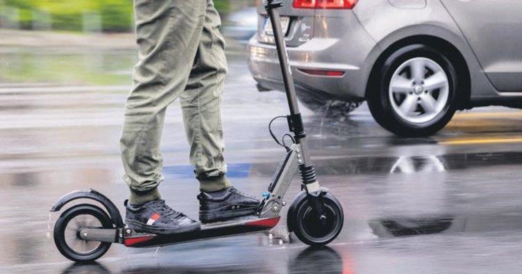 E-scooter 7 can aldı