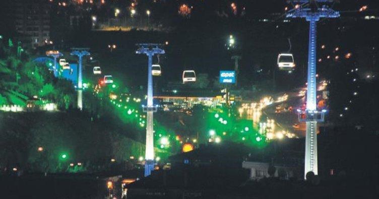 En uzun teleferik Ankara'da