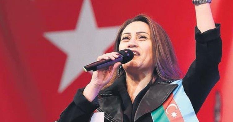 Son dakika haberi: Ünlü sanatçı Azerin'den 'KARABAĞ' çağrısı! Türkiye'deki sanatçılara davet gönderiyorum...