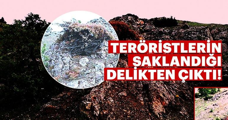Son Dakika: Teröristlerin saklandığı delikler yerle bir oldu! Ele geçirilenler arasında...