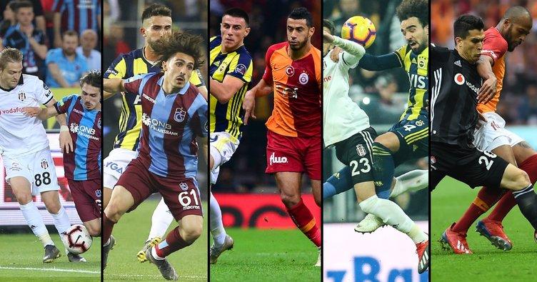 İşte Spor Toto Süper Lig'de derbi haftaları