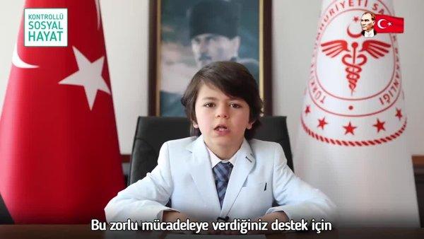Sağlık Bakanı Fahrettin Koca'dan dikkat çeken '23 Nisan' paylaşımı