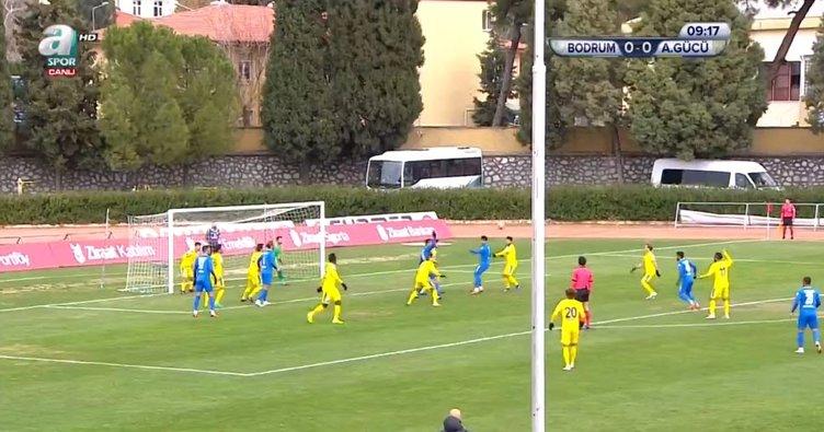 Maç Sonucu & Goller | Bodrum Belediyesi Bodrumspor 4-2 Ankaragücü