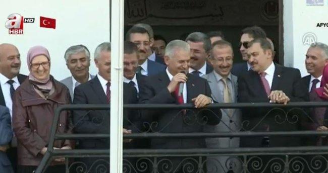 Başbakan Yıldırım Afyonkarahisar'da