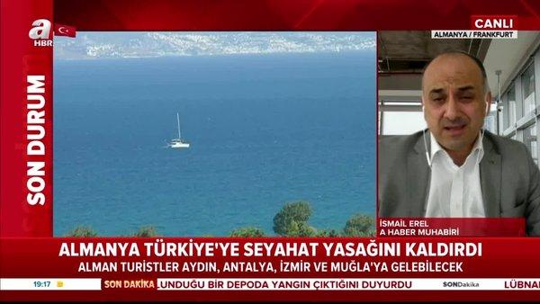 Son dakika! Almanya'dan flaş Türkiye kararı! 4 il için seyahat uyarısı kaldırıldı | Video