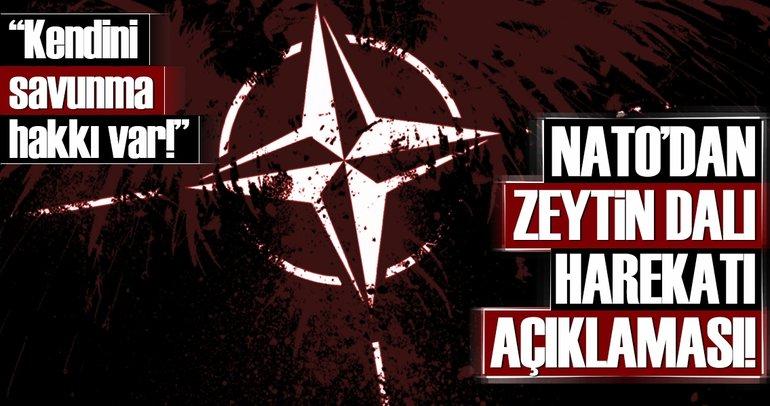 NATO'dan Zeytin Dalı Harekatı açıklaması
