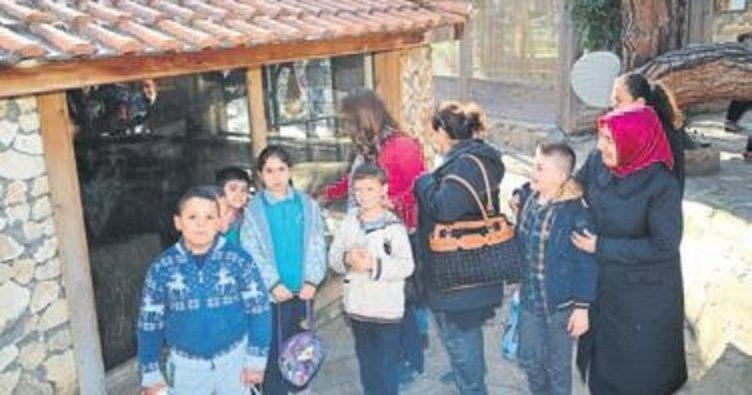 Özel eğitim alan çocuklar eğlendi