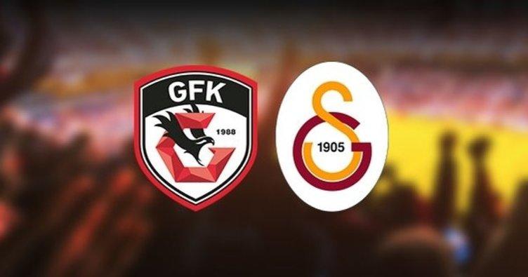 Aslan Gaziantep'te kükredi!   Gaziantep FK 0 - 2 Galatasaray - MAÇ SONUCU -
