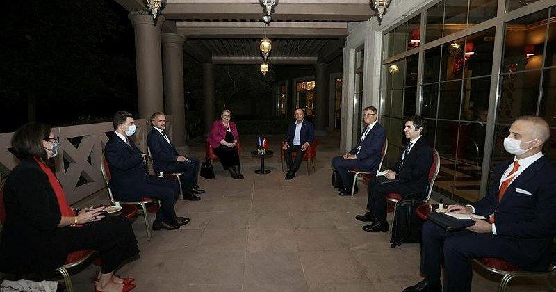Dışişleri Bakanı Çavuşoğlu, Arnavutluk, Karadağ ve Bosna Hersek Dışişleri  Bakanlarıyla görüştü - Son Dakika Haberler