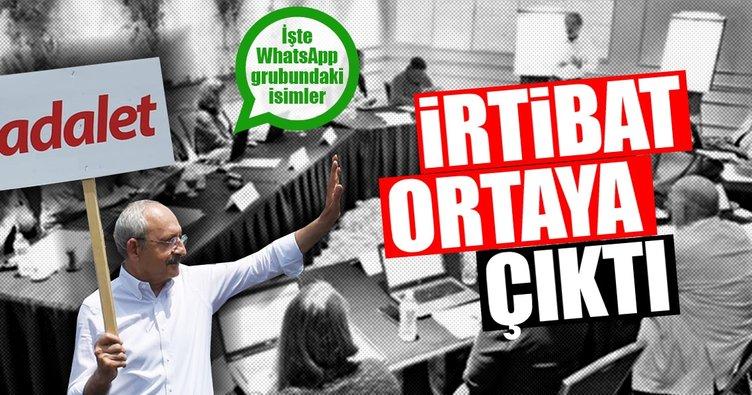 Kaos toplantıcıları CHP ile irtibatlı çıktı