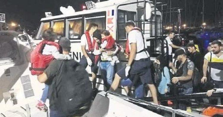 İzmir'de 46 kaçak göçmen yakalandı