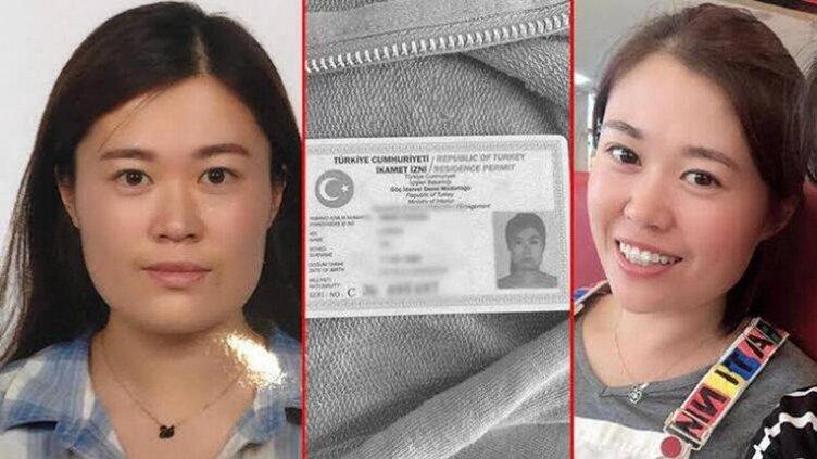 Ölü bulunan Çinli kadını bu görüntülerden sonra kaçırdılar