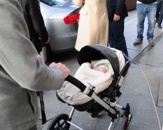 Mirgün Cabas oğlu ile görüntülendi