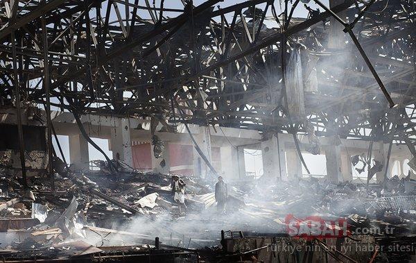 Dehşete düşüren Yemen fotoğrafları