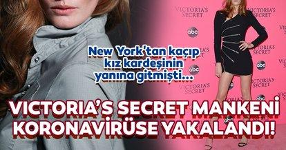 Victoria's Secret'ın ünlü mankeni Alexina Graham corona virüse yakalandı! Alexina Graham New York'tan kaçıp kız kardeşinin yanına gitmişti...