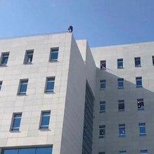 TBMM'de intihar girişimi... Meclis Halkla İlişkiler binasının çatısında intihar girişimi