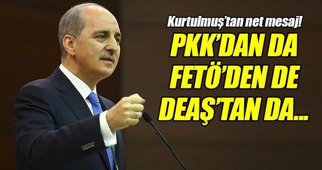 'Türkiye'yi PKK'dan da, FETÖ'den de, DEAŞ'tan da temizleyeceğiz'