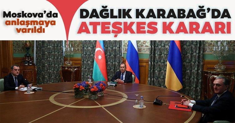 Son Dakika Haberi: Azerbaycan ve Ermenistan Dağlık Karabağ'da ateşkes konusunda anlaştı