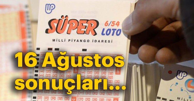 Son dakika haber: Süper Loto çekiliş sonuçları belli oldu! MPİ 6 Ağustos Süper Loto kazandıran numaralar