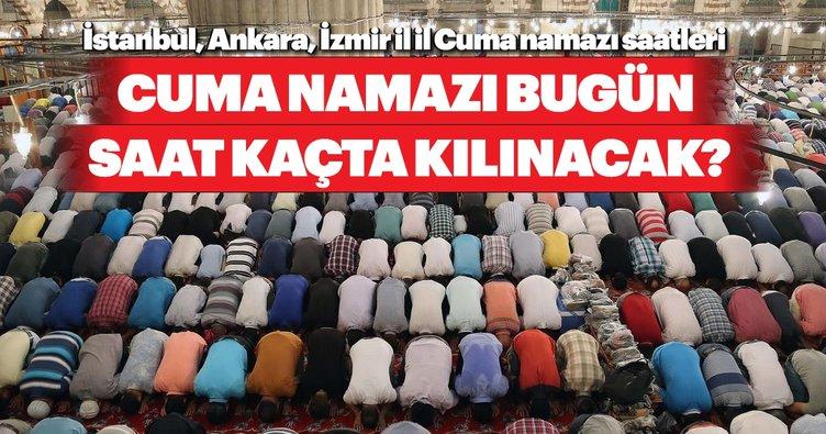 Cuma namazı bugün saat kaçta kılınacak? 26 Nisan 2019 il il, Ankara, İzmir ve İstanbul cuma namazı vakitleri